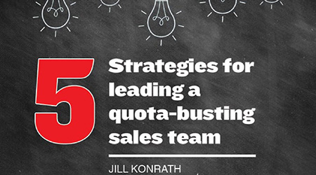 quota busting sales team