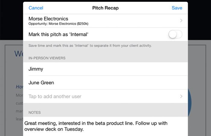 Follow up meetings