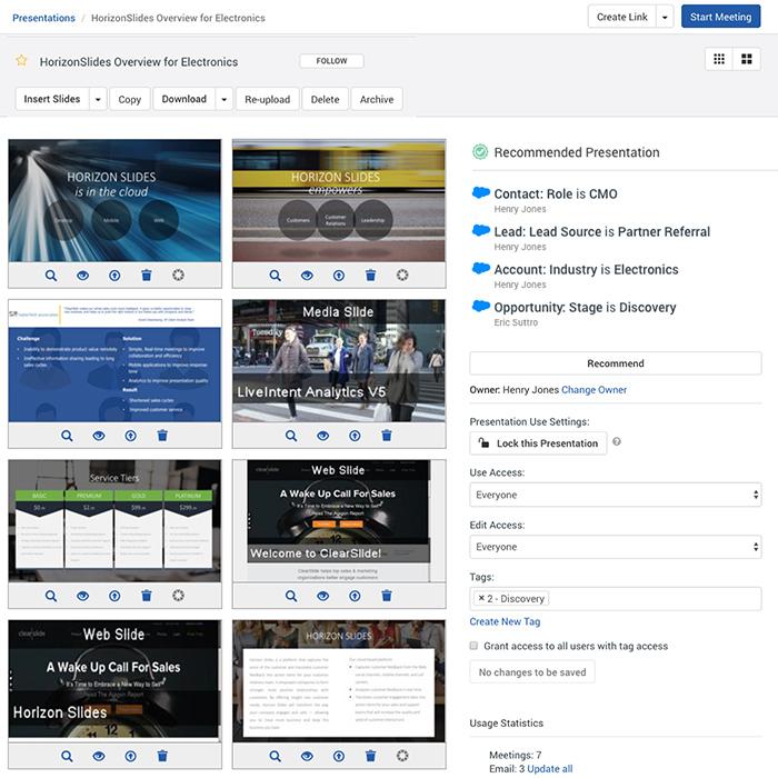 content management recommendations