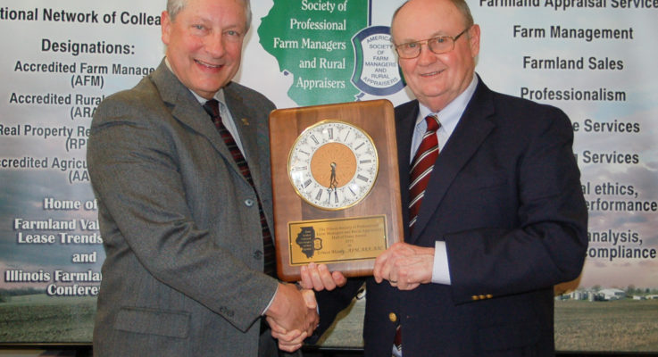 Moody Named to Farm Managers/Appraisers Hall of Fame