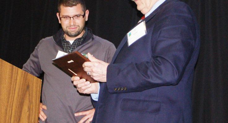 """Albert Wins """"Workhorse Award"""""""