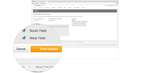 Step 4: Click grant access
