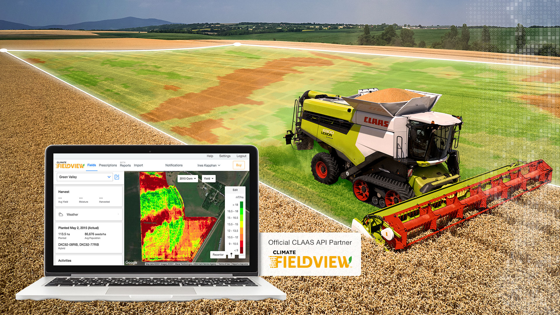 Bring on the harvest: CLAAS Telematics and FieldView™ change the game with API launch
