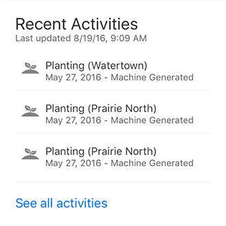 Notifications graphic screenshot