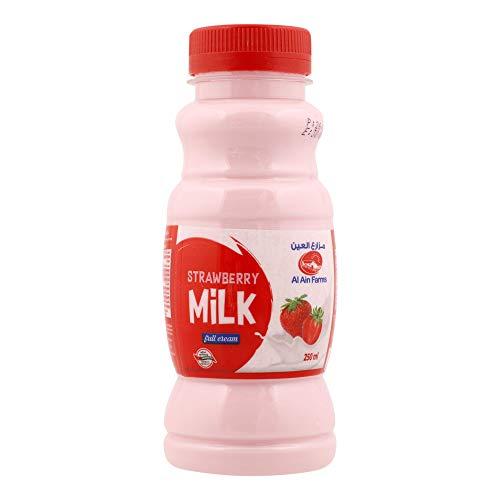 Al Ain Fresh Moochy Strawberry Flavour Milk UAE, 250 ml
