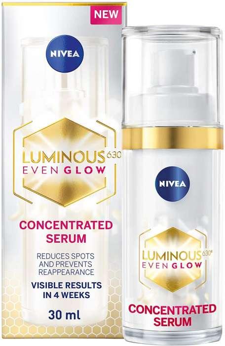 Nivea Luminous630 Even Glow Concentrated Serum