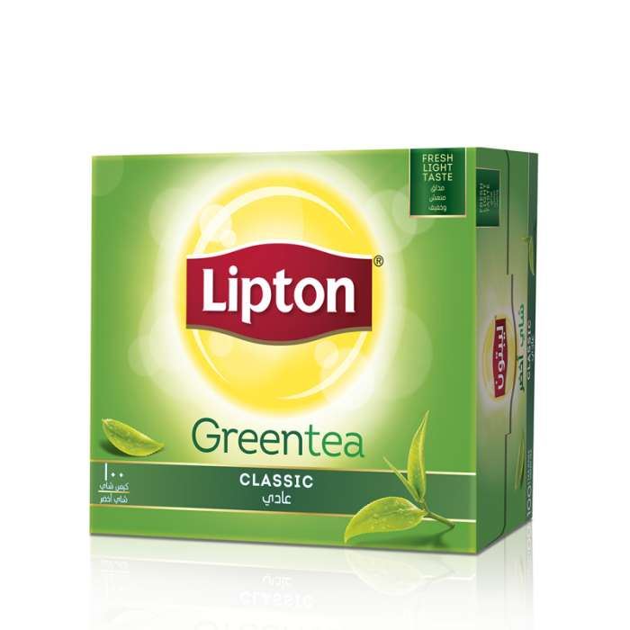 LIPTON GREEN TEA PURE 100 TEA BAGS.,2.58