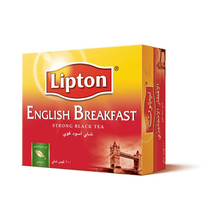 LIPTON ENGLISH BREAKFAST TEA 100 TEA BAGS,2.60