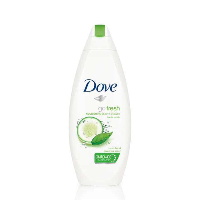 DOVE SHOWER GEL FRESH TOUCH 500ml,5.85