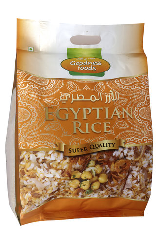 GOODNESS FOOD EGYPTIAN RICE 5KG,2.00