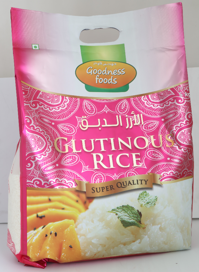 GOODNESS FOODS  THAI SWEET RICE 5KG,2.00