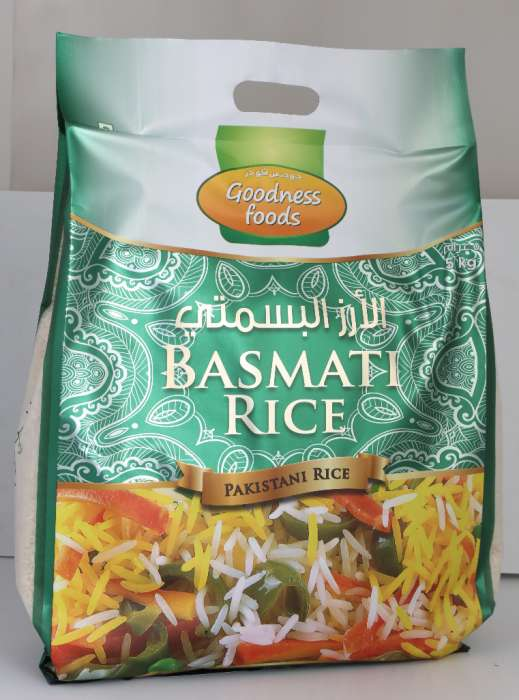 GOODNESS FOODS  PAKISTAN BASMATI RICE 5KG,2.00
