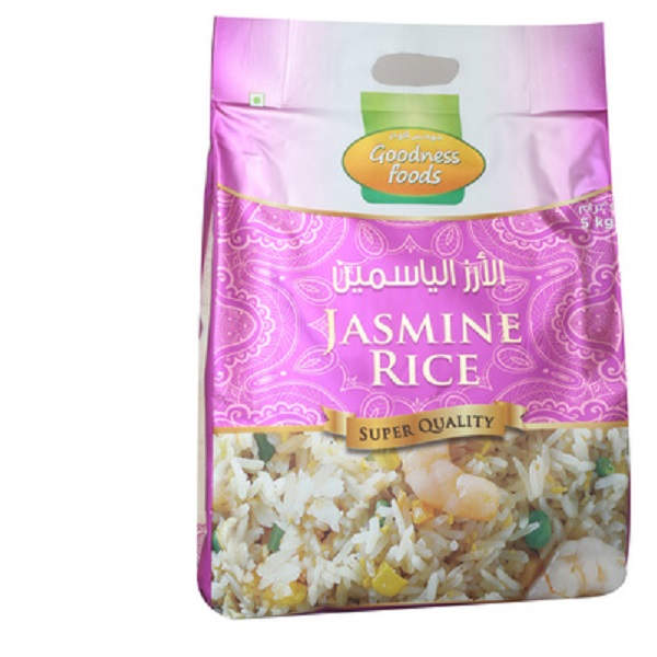 GOODNESS FOODS JASMINE RICE 5KG,2.00