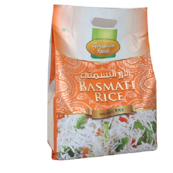 GOODNESS FOODS BASMATI RICE 5KG,2.00