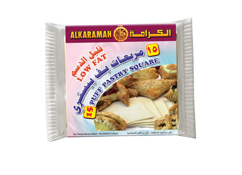 AL KARAMAH PUFF PASTRY LOW FAT 400G,2.50