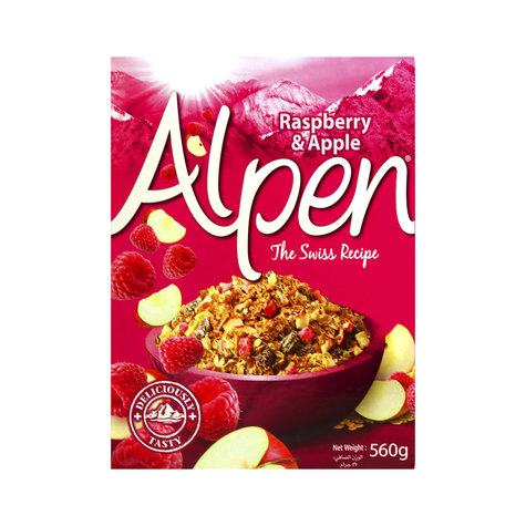 ALPEN RASPBERRY 560 G,5.75