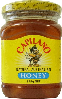 CAPILANO GLASS JAR HONEY 375 GMS,7.50