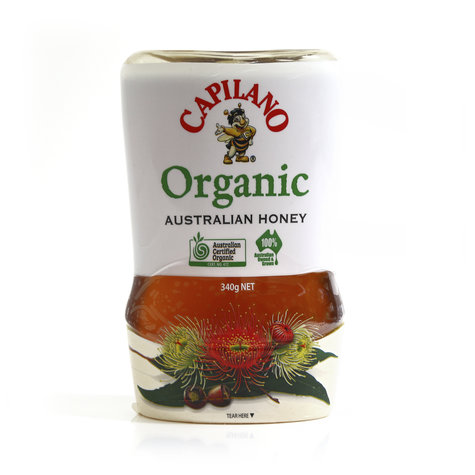 CAPILANO HONEY UPSIDE DOWN ORGANIC 340GM,7.49