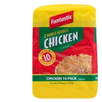 FANTASTIC 2M NOODLES CHICKEN (10X85GM),3.50