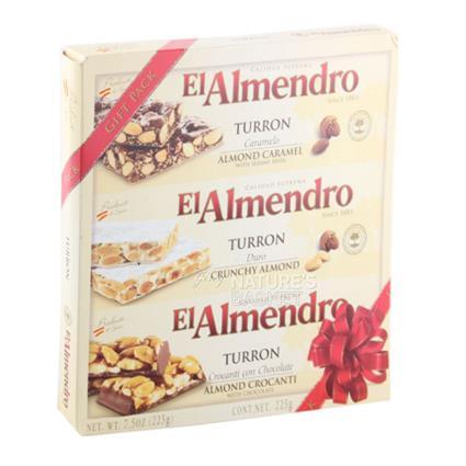 EL-ALMENDRO TURRON SAMPLER 225 GMS,9.00