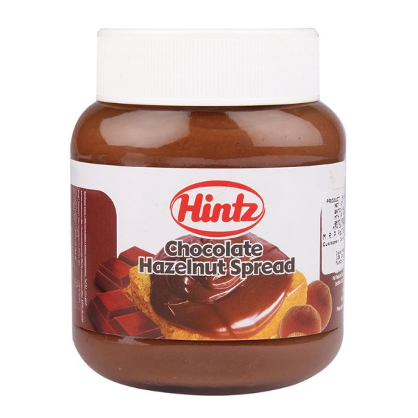 HINTZ CHOC HAZELNUT SPREAD 400 GMS (NORMAL & TWIN COLOUR),3.00