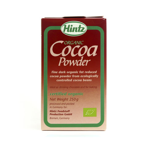 HINTZ COCOA POWDER ORGA PKT 250 GMS,5.50