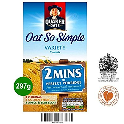 QUAKER OATS SO SIMPLE VARIETY 297GMS,5.75