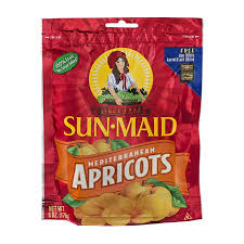 SUNMAID BAG MEDITER APRICOT 6 OZ,5.50