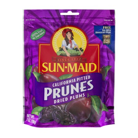 SUNMAID PITTED PRUNES DRIED PLUMS 7 OZ,5.00