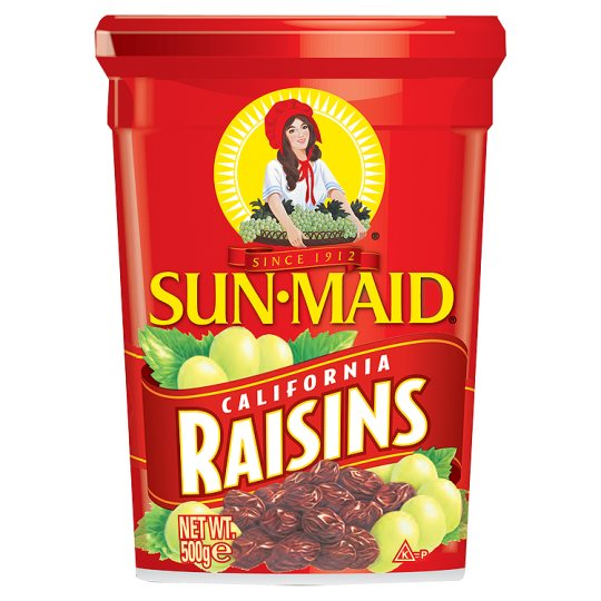SUNMAID RAISINS CALIFORNIA 500 GMS,5.50
