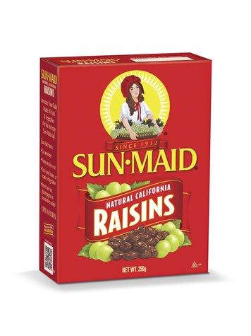 SUNMAID RAISINS NTRL CALIFORNIA 250GMS,2.50
