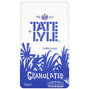 TATE + LYLE GRANULATED SUGAR 2 KG,4.00