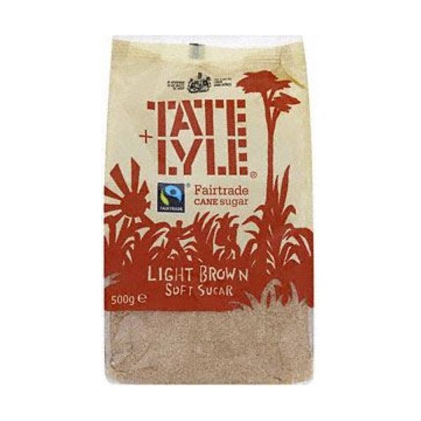 TATE + LYLE LIGHT BROWN SUGAR 500 GMS,3.00