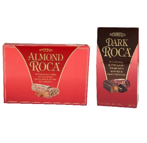 B&H ALMOND ROCA GABLE & GIFT BOX 140 GM - ALL VARIETIES,5.25