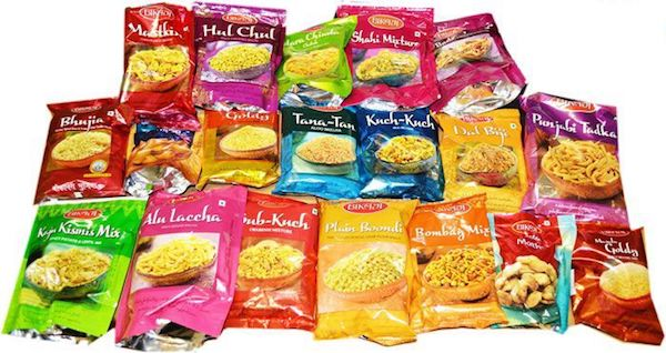 Bikaji Namkeen & Snacks 200g - All varieties.,1.50