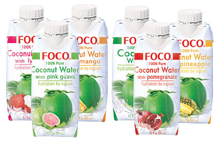 FOCO 100% PURE COCONUT WATER 500ML - ALL VARIETIES,2.00