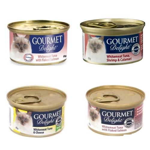 Gourmet Delight Cat Food - 85g,1.25
