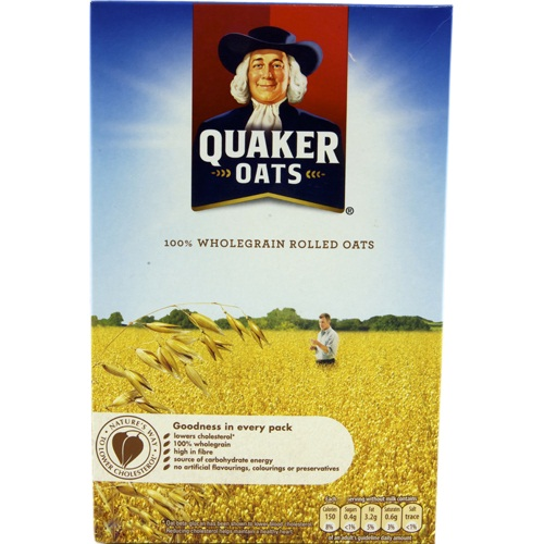 QUAKER OATS BOX 500 GMS,2.75