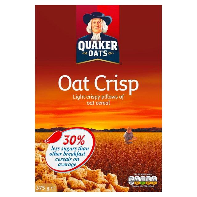 QUAKER OATS CRISP 375 GMS,4.75