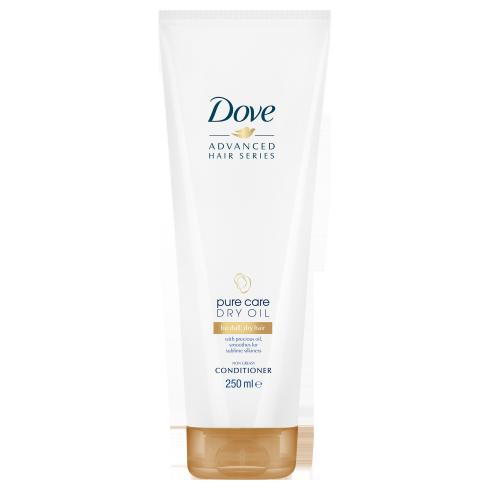 Dove Pure Care Dry Oil Conditioner 250ml,5.10