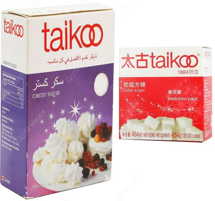 TAIKOO SUGAR 454 GMS- CASTER & CUBE,2.00