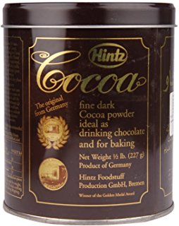 HINTZ COCOA POWDER TIN 227 GMS,10.00