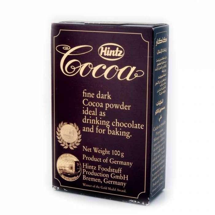 HINTZ COCOA POWDER PKTS 10/12%- 100GM,2.50