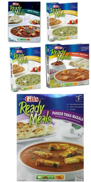 Gits Ready to Eat meals - All varieties,2.00