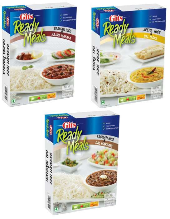 Gits Rice & Ready Meals 375g - All varieties,2.50