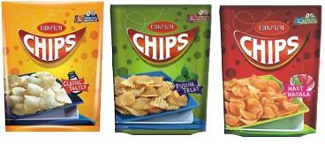Bikaji Chips- 40 GMS,0.50
