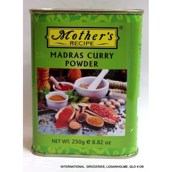 MOTHER RECIPE MADRAS CURRY POWDER 250 GMS,2.00