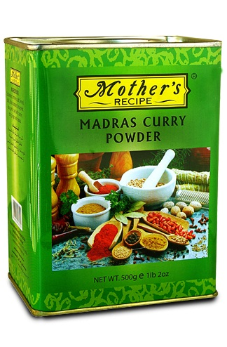MOTHER RECIPE MADRAS CURRY POWDER 500GMS,4.00