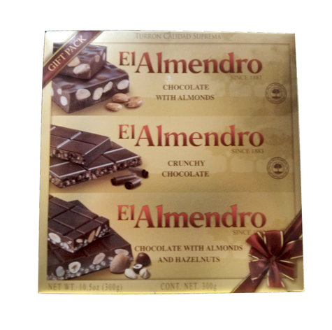 EL ALMENDRO SAMPLER CHOCOLATES 300 GMS,10.00