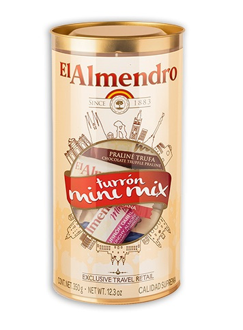 EL-ALMENDRO MINI CHOCO MIX TIN 350g,15.00
